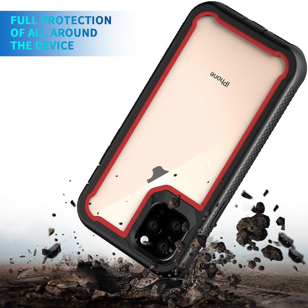 Capinha Armadura TPU Proteção Traseira Iphone 11, 11 Pro, 11 Pro Max