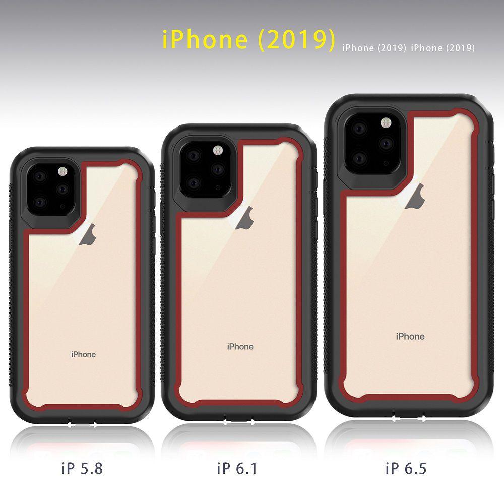 Capinha Armadura TPU Proteção Traseira Iphone 6 7 8 Plus, X XS XR XS MAX