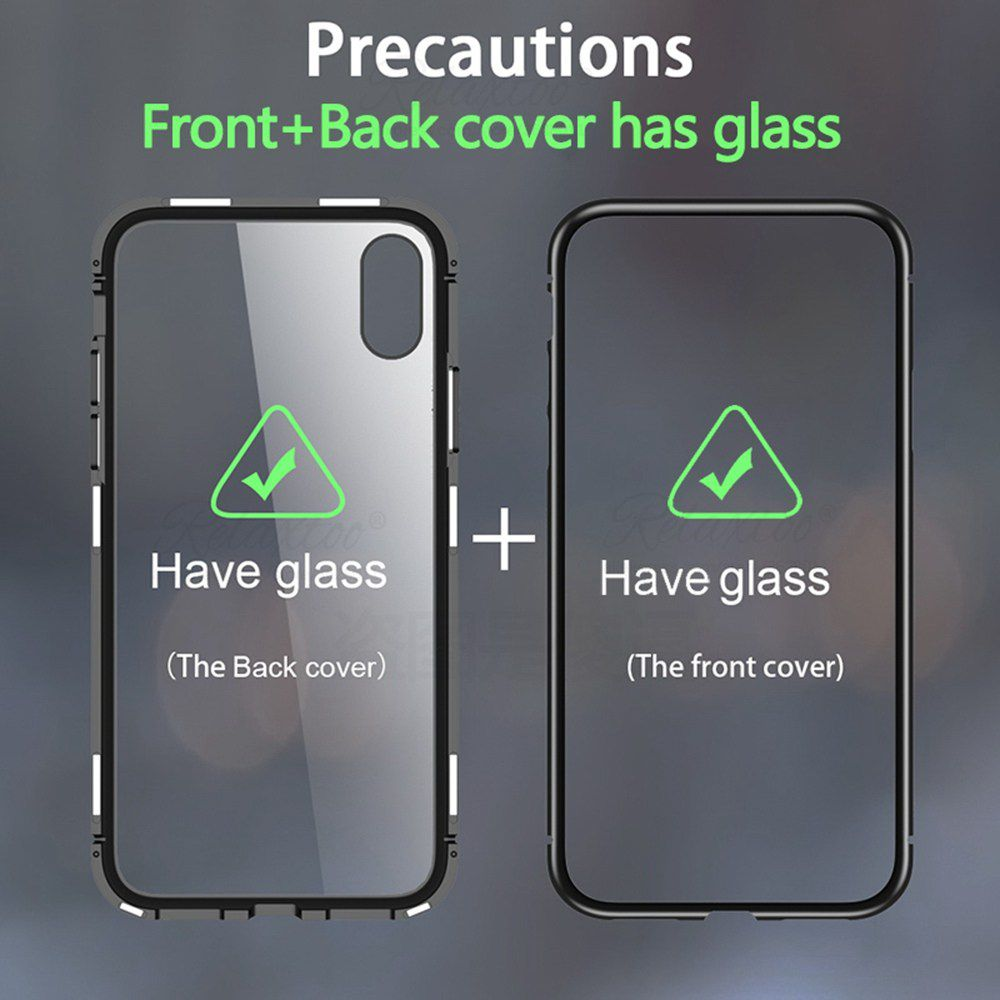 Capinha Case Magnética Vidro 360 Frente/Verso Iphone 11, 11 Pro, 11 Pro Max