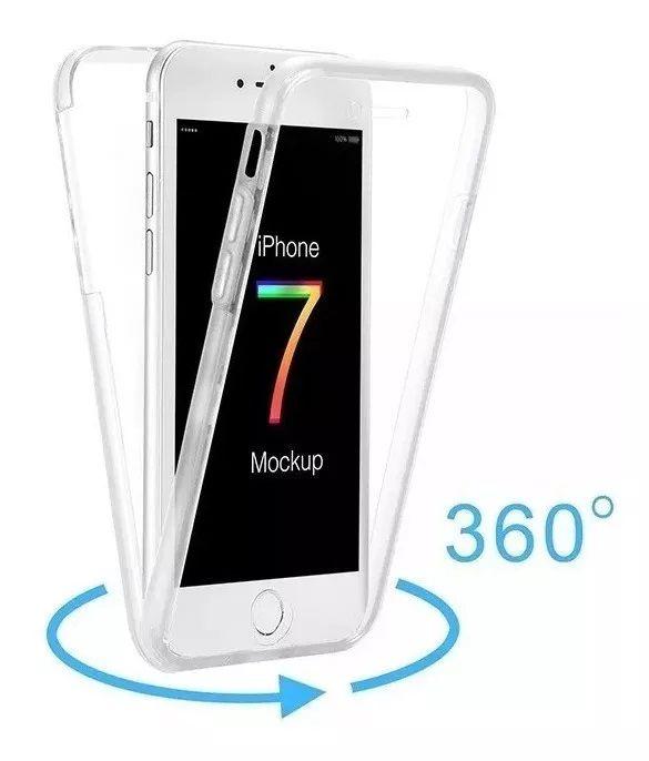 Capinha iPhone 5s Se 6 7 8 Plus X XS XR XS MAX 360° Frente Verso