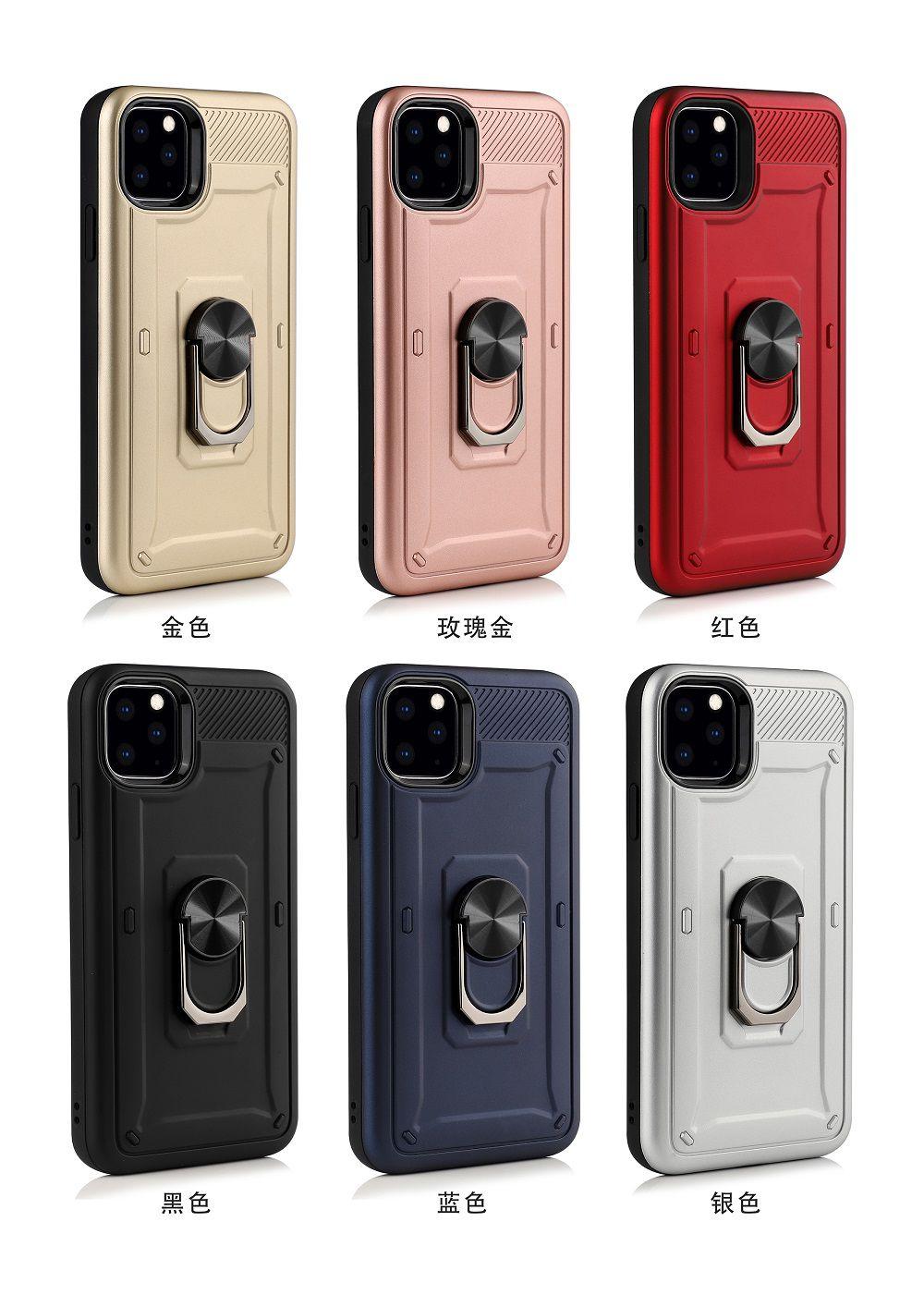 Capinha Shield c/ Anel Iphone 11, 11 Pro, 11 Pro Max