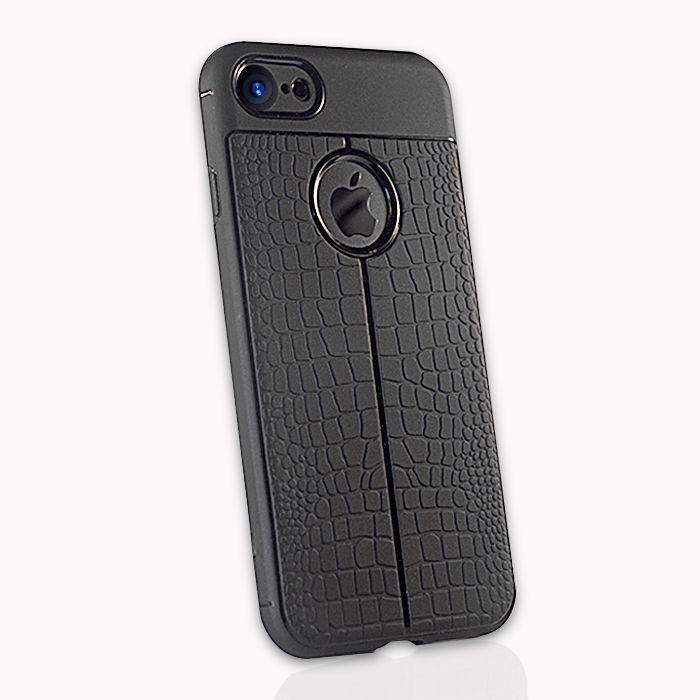 Capinha TPU Pele Jacaré Iphone 5 6 7 8 X XR XS + Película
