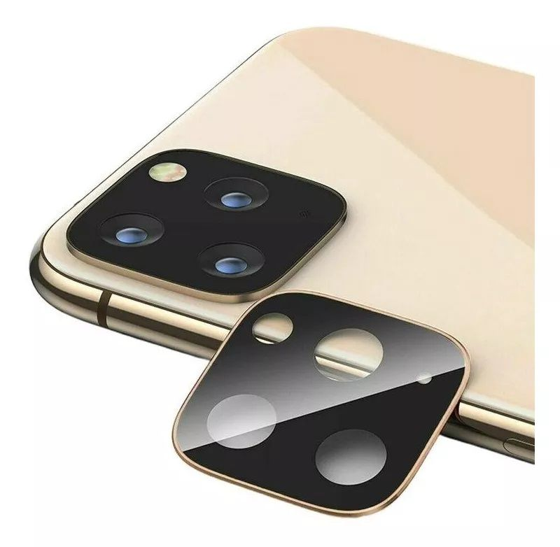 Capinha TPU + Película 5D + Película Câmera Iphone 11 Pro, 11 Pro Max