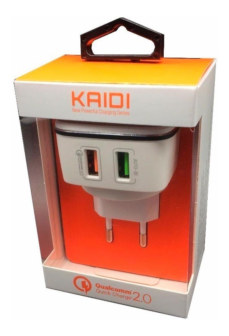 Carregador Celular Turbo 4.2a Quick Charge 3.0 KD102 - KAIDI