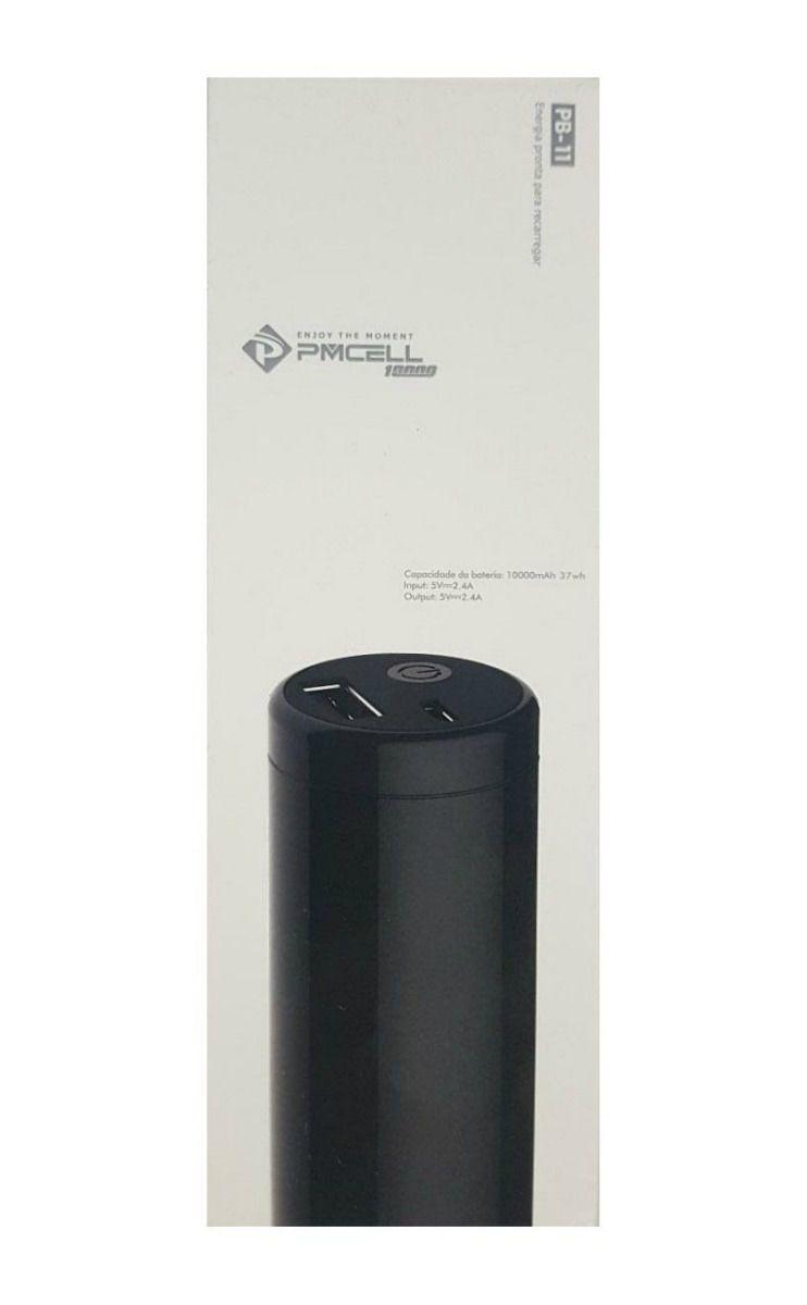 Carregador Portátil Power Bank PMCELL 10000mah PB11