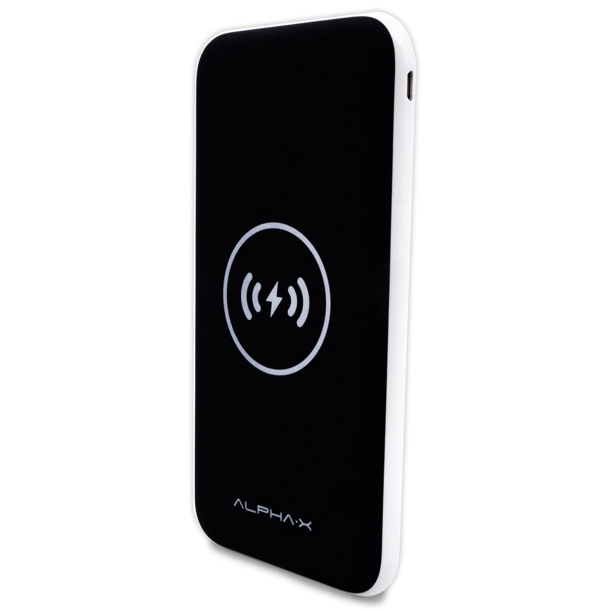Carregador Portátil Wireless Power Bank Alpha-X 10000mAh - W10