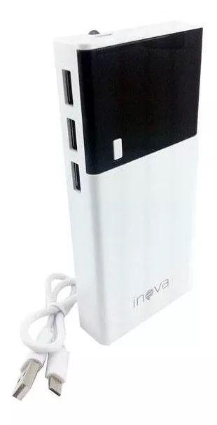 Carregador Power Bank 10000ma Display LED Inova POW-8317