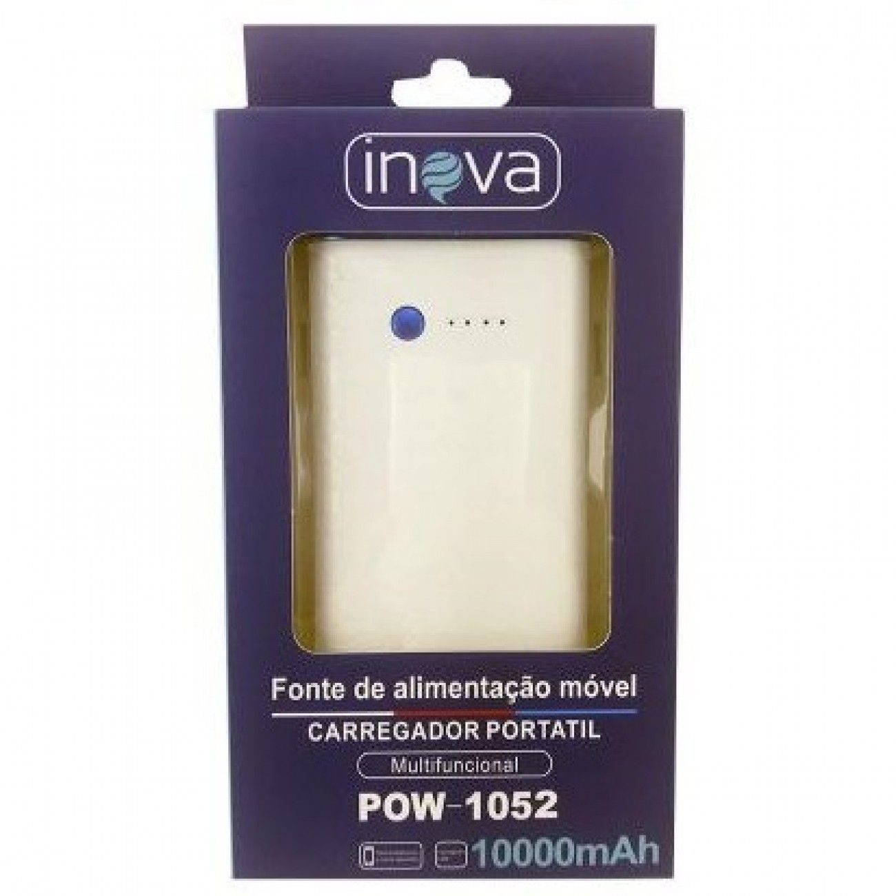 Carregador Power Bank 10000ma Inova POW-1052