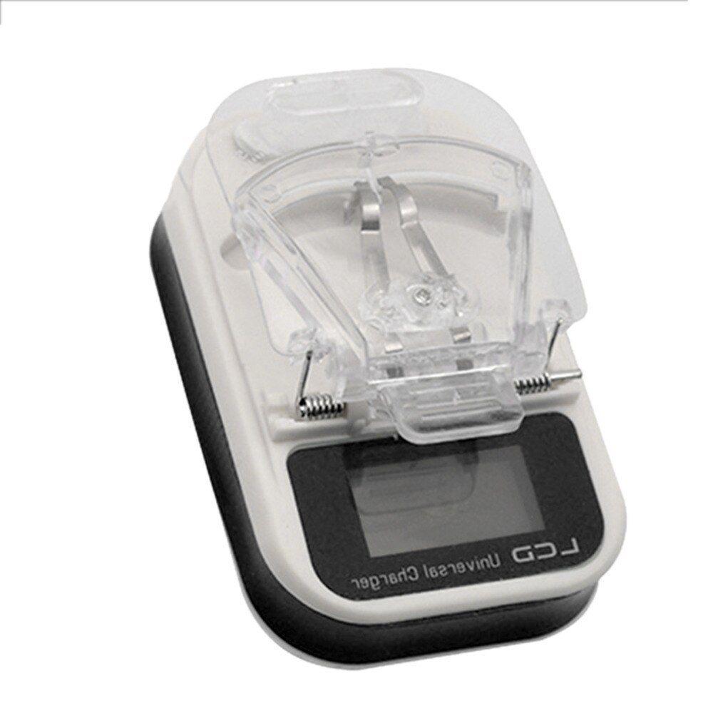 Carregador Universal De Bateria C/ LCD Celular Câmera