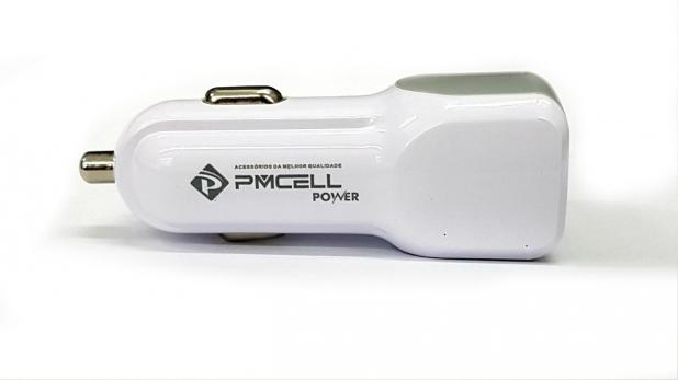 CARREGADOR VEICULAR 2x USB PMCELL POWER778 CV21