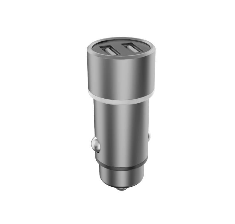 CARREGADOR VEICULAR 3.6A 2x USB PMCELL TURBO740 CV32