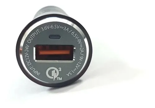 CARREGADOR VEICULAR 3.6A USB PMCELL TURBO760 (677) CV33