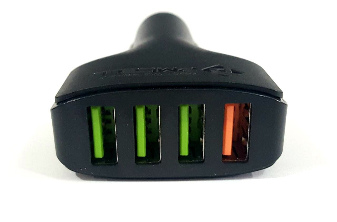 CARREGADOR VEICULAR 5A QUALCOMM 4x USB PMCELL MAXX588 CV-41