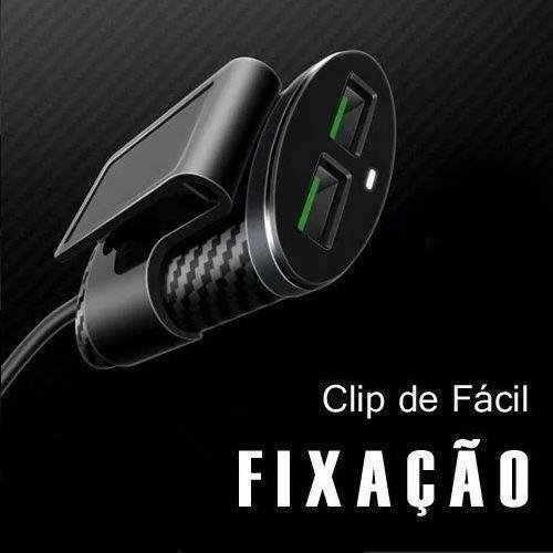 CARREGADOR VEICULAR EXTENSOR 5.1A 4x USB UBER TAXI PMCELL MAXX CV42