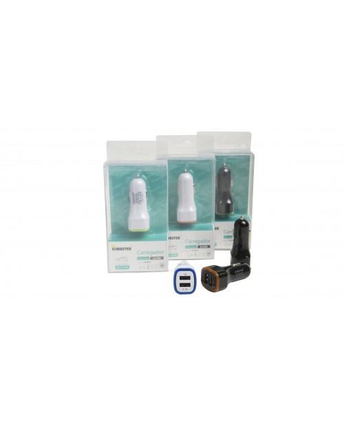 Carregador Veicular Premium com Led