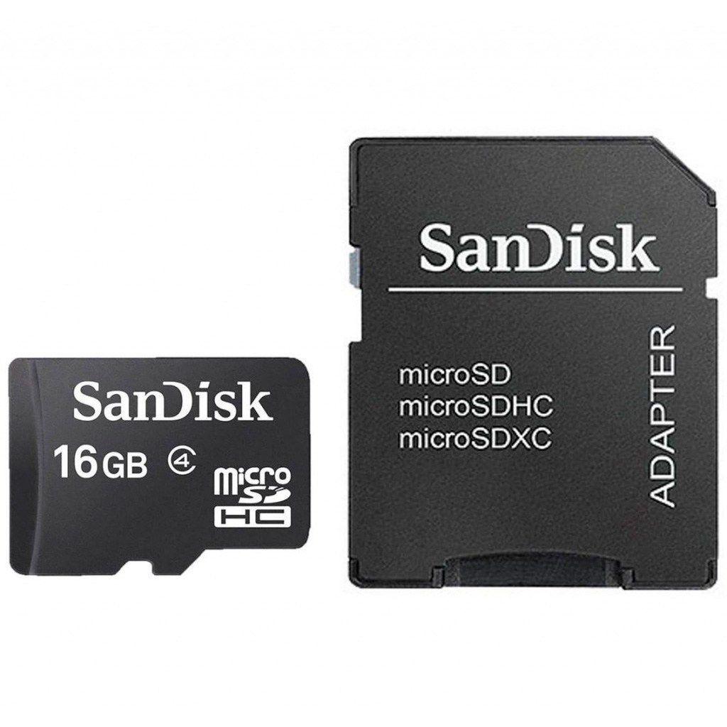 Cartão de Memória   16GB   Sandisk Micro SD