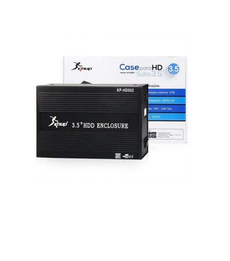 """Case HD 3,5"""" USB 2.0 KP-HD002"""