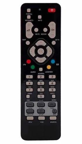 Controle Remoto NET Digital Receptor Le-7209 - Lelong