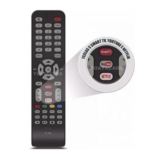 Controle Remoto Semp Toshiba Led Smart Le-7018 - Lelong