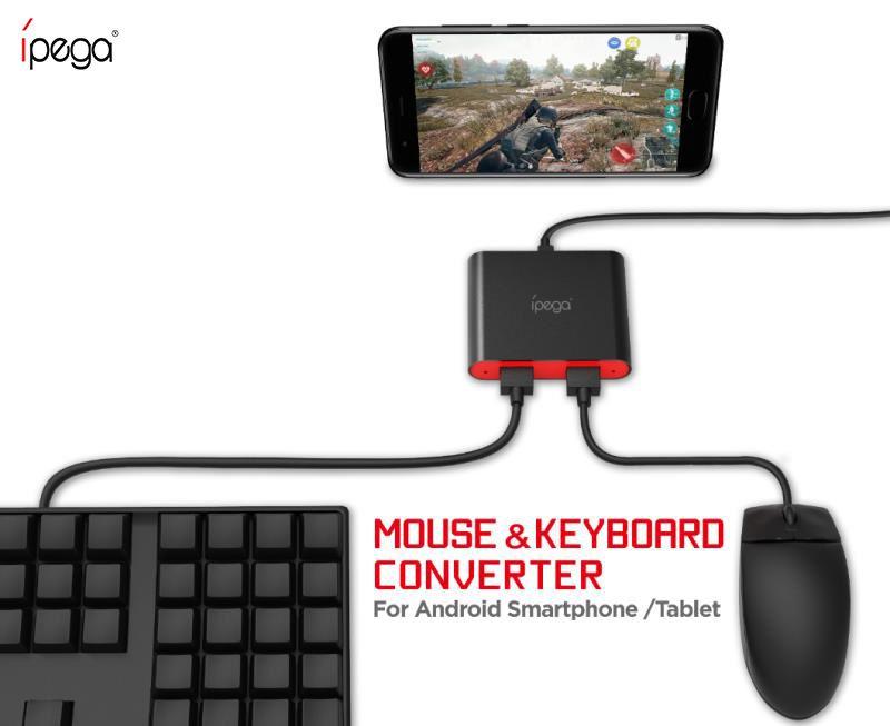 Conversor Bluetooth De Teclado e Mouse Para Android Ipega PG-9096