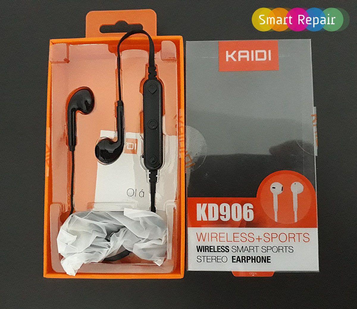 Kit 5x Fone de Ouvido Bluetooth Intra-Auricular Kaidi KD906