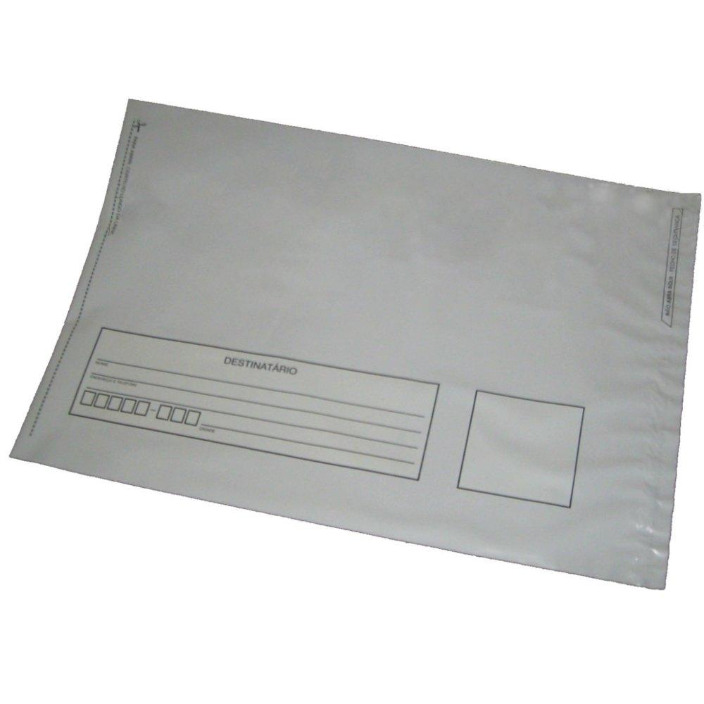 Envelope Plástico Segurança Lacre Tipo Sedex Impresso 26x36 (250pcs)
