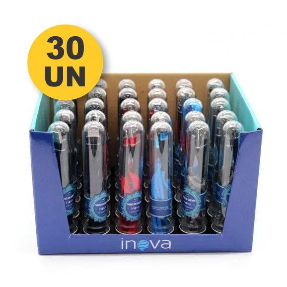Expositor + 30 Cabo Turbo USB | 1m V8 | Inova CBO-5652