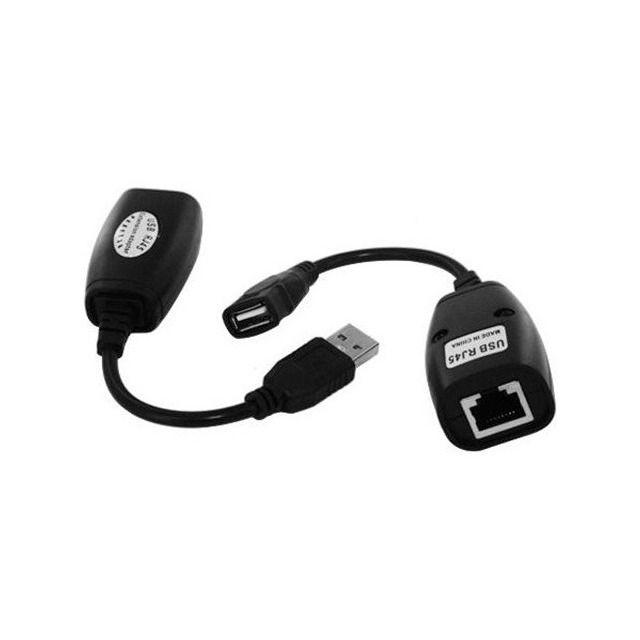 Extensor USB via Cabo Internet RJ45 Knup HB-T88