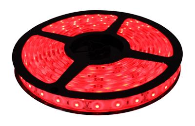 Fita de LED 5M 12V Vermelho (60 led/m) SMD 3528