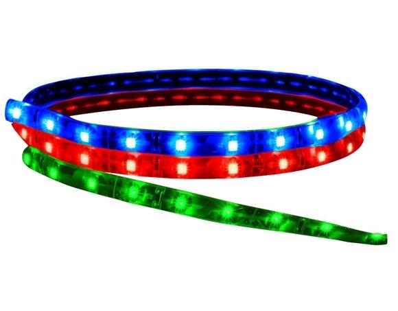 Fita de led 5m Prova D´água 12V RGB (60 led/m) SMD 5050