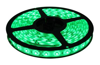 Fita de led 5M Prova D´água 12V Verde (60 led/m) SMD 3528