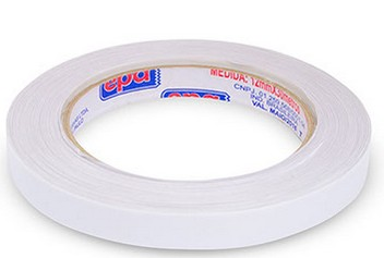 FITA ADESIVA DUPLA FACE PAPEL 12mm x 30mts (20 rolos)