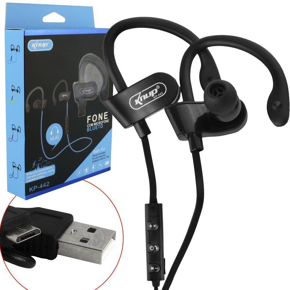 Fone Bluetooth sport KP-442