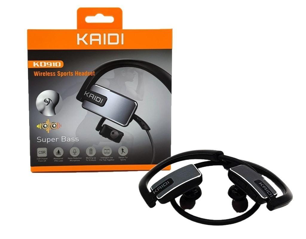 Fone de Ouvido Bluetooth C/ Microfone Sports KD910
