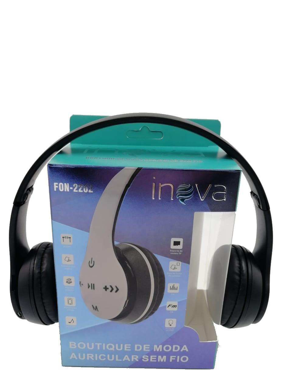 Fone de Ouvido Bluetooth FON-2202 - INOVA