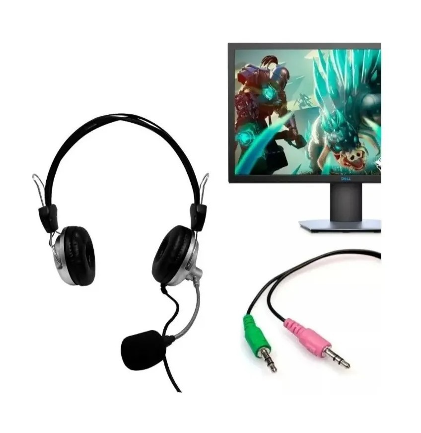Fone De Ouvido Headfone Estéreo Com Microfone Sy-301 - Souye