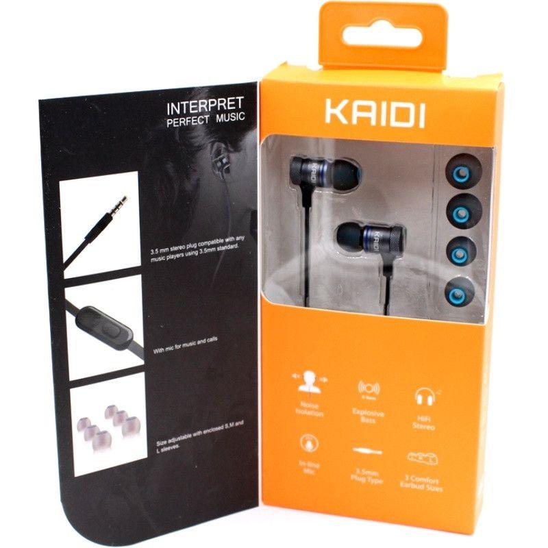 Fone de Ouvido Intra-Auricular P2 Kaidi KD100