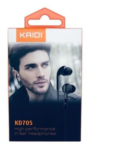 Fone De Ouvido Kd-705 High Perfonmance In-ear Headphone