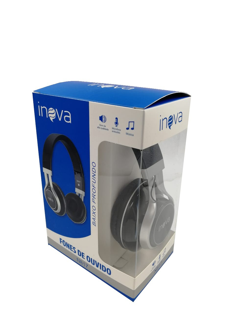 Fone De Ouvido Sound Super Bass N817 - INOVA