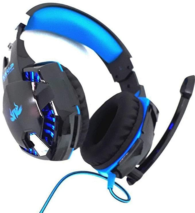 Fone Headset Gamer 7.1 virtual Usb P2 Com Fio Pc Ps4 Xbox One Knup KP-455A