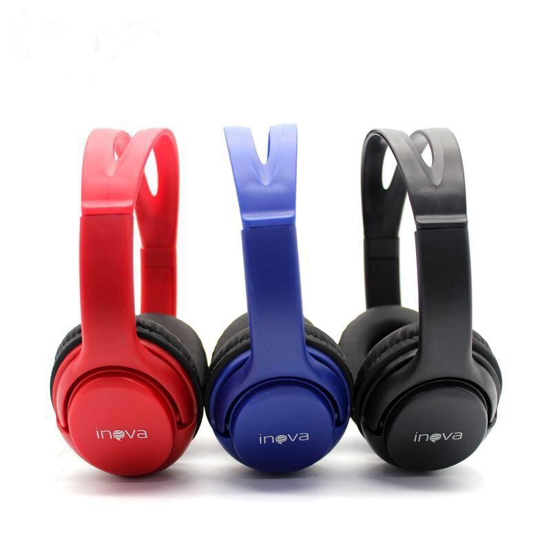 Fone Ouvido Bluetooth Wireless C/ Rádio FM Inova FON-6701