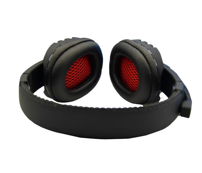 Fone Ouvido c/ Microfone Gamer K4 Vermelho