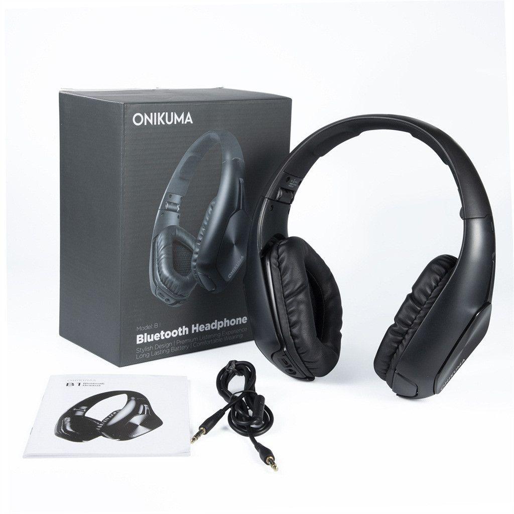 Fone Ouvido Headphone Bluetooth Profissional Onikuma B1