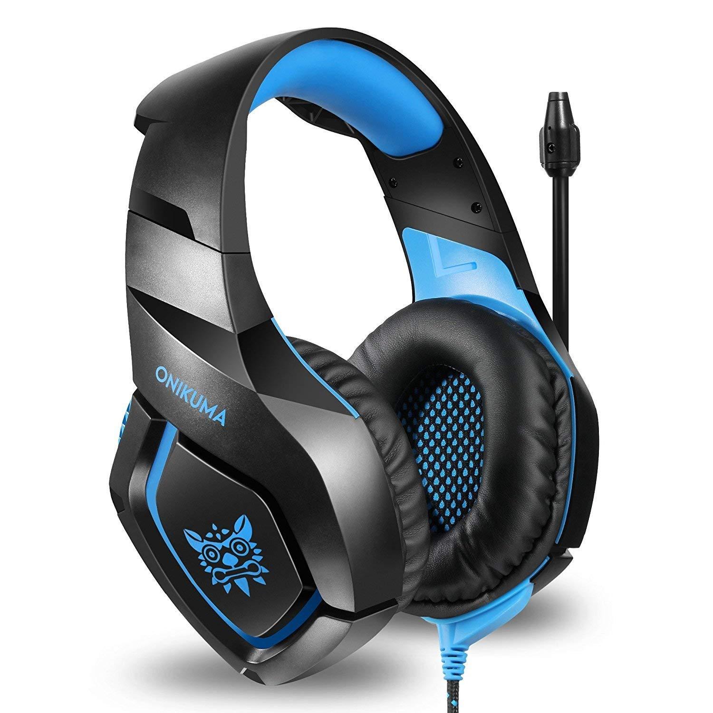 Fone Ouvido Headset Gamer K1B Blue Onikuma