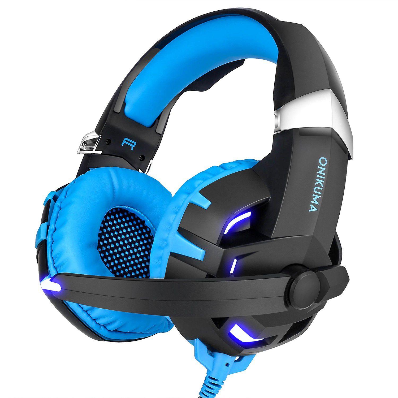 Fone Ouvido Headset Gamer K2 7.1 Blue Led Onikuma