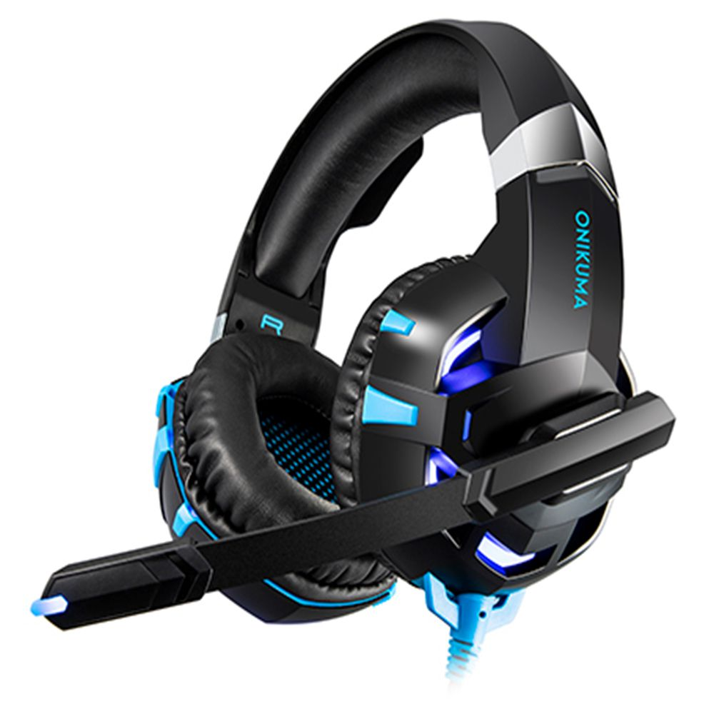 Fone Ouvido Headset Gamer K2 Pro Blue Led Onikuma