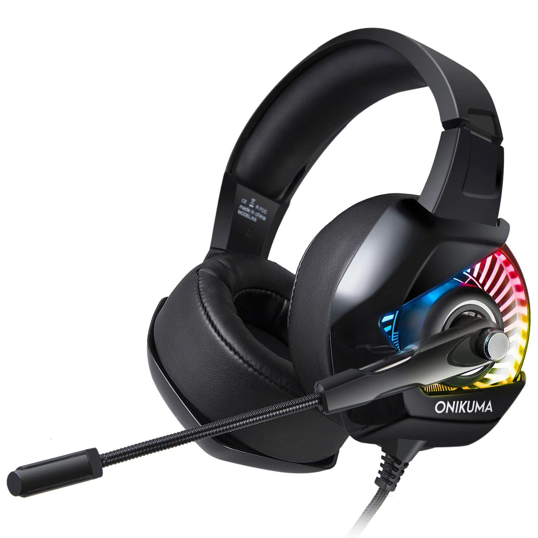 Fone Ouvido Headset Gamer K6 RGB Led Onikuma