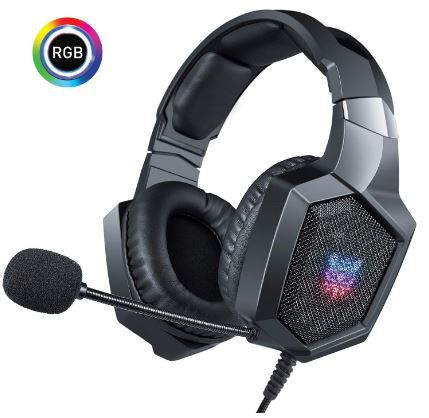 Fone Ouvido Headset Gamer K8 RGB Led Onikuma