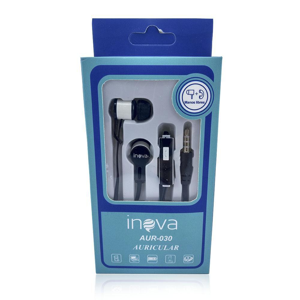Fone Ouvido Intra-auricular c/ Microfone Inova AUR-030