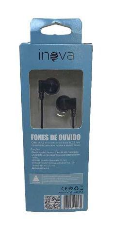 Fone Ouvido Intra-auricular c/ Microfone Inova FON-2117D